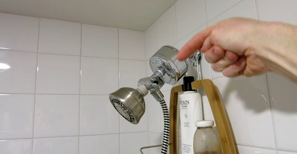 increase water pressure in the shower