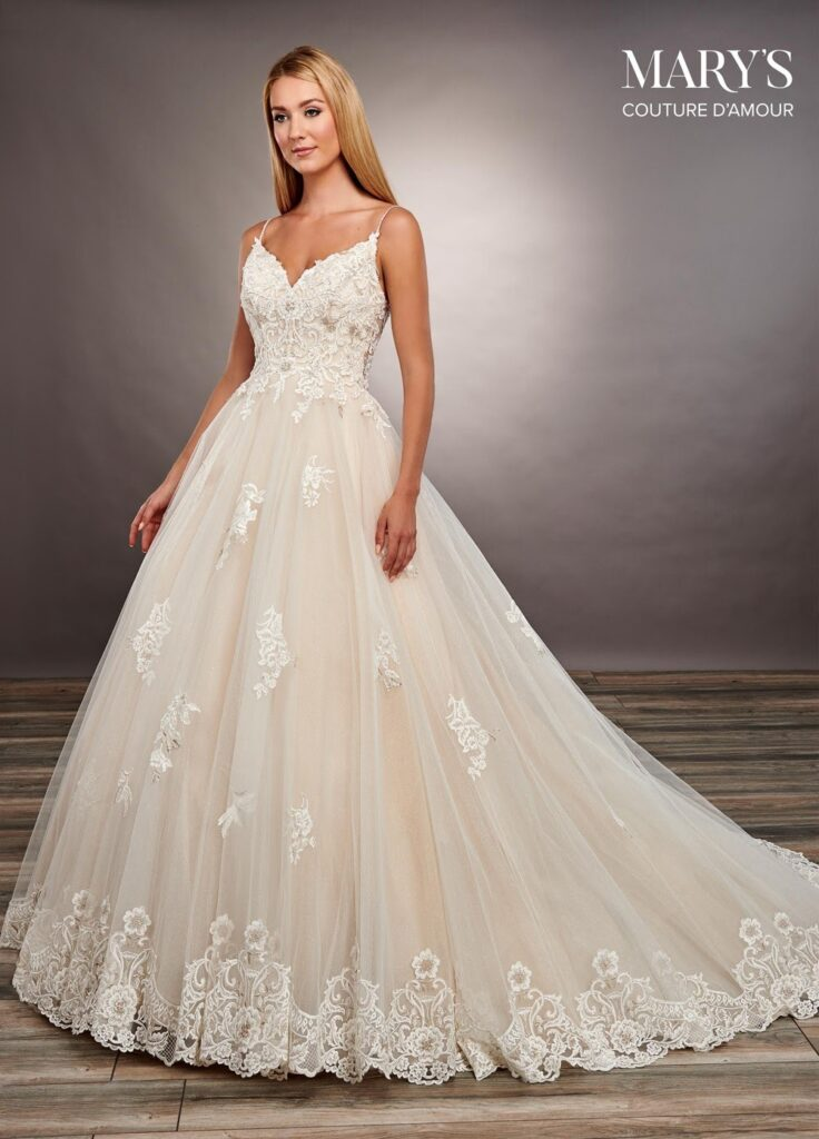 fully traditional ball gown