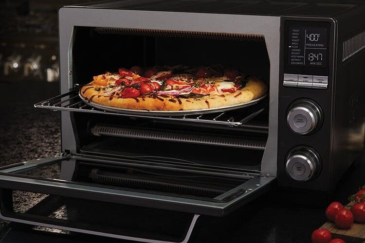 microwave pizza