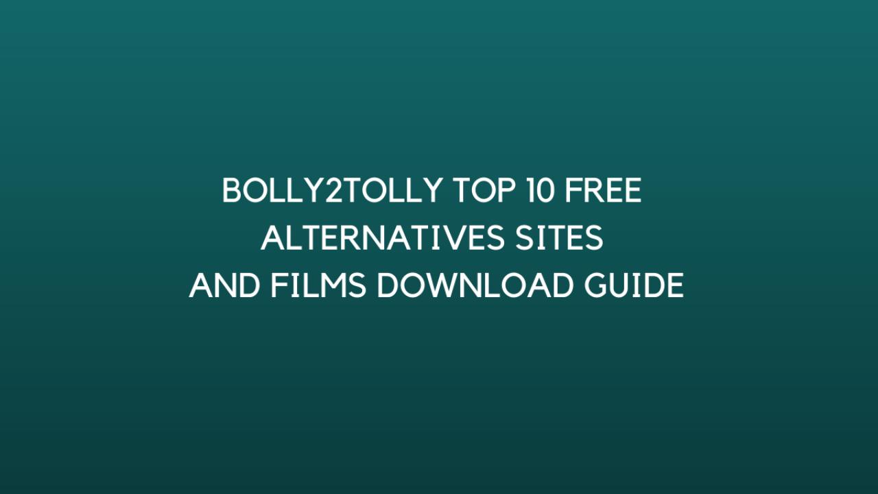 Bolly2Tolly Website